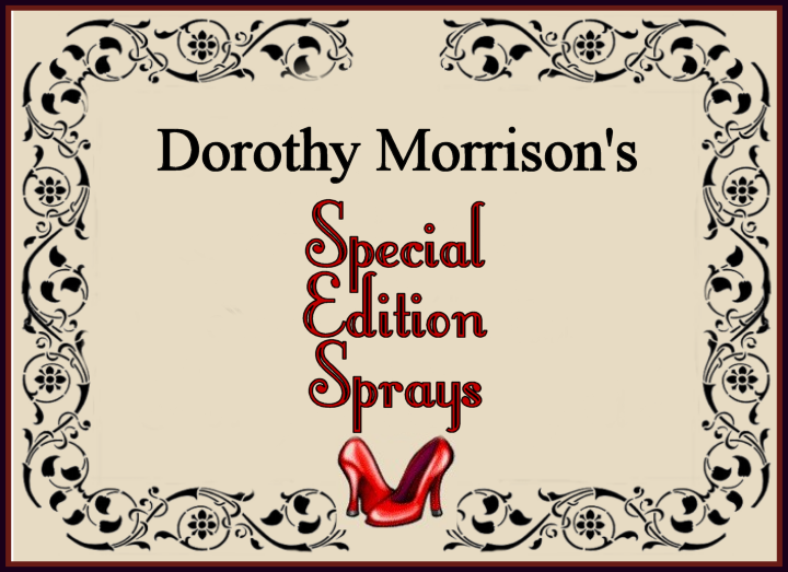 Special Edition Sprays